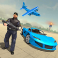 警车运输飞机