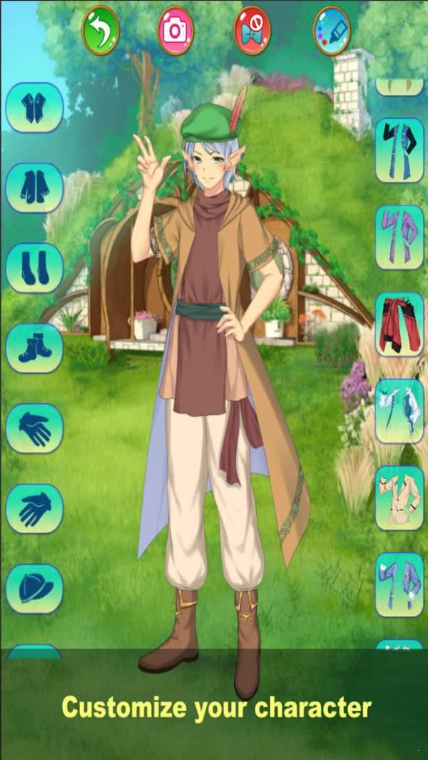 神秘的王子裝扮