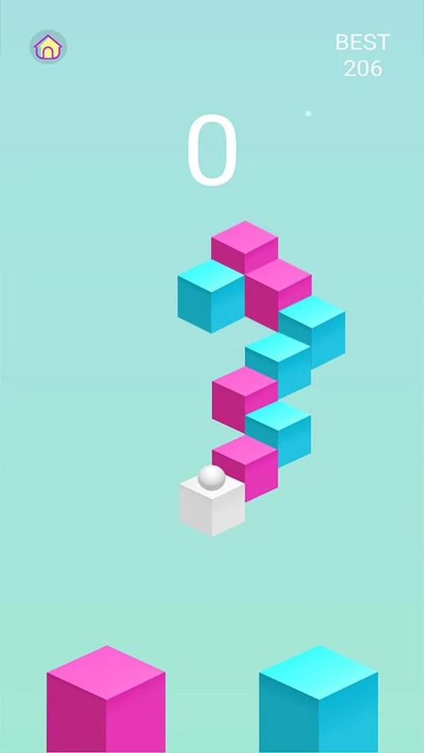 粉藍跳跳球