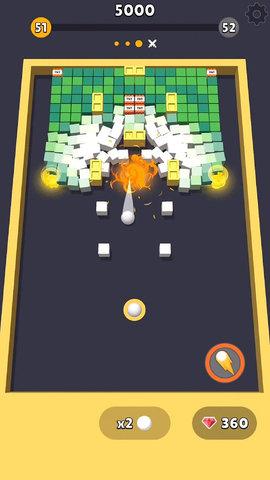 发射小球游戏