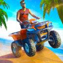 海滩四轮车冒险游戏