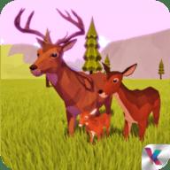 鹿模擬器幻想叢林