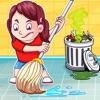女孩城和家庭干净