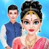 皇家公主婚礼化妆和装扮沙龙