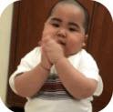 抖音非洲小胖子跳舞表情包