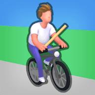 自行车腾跃