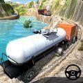 油轮卡车越野行驶