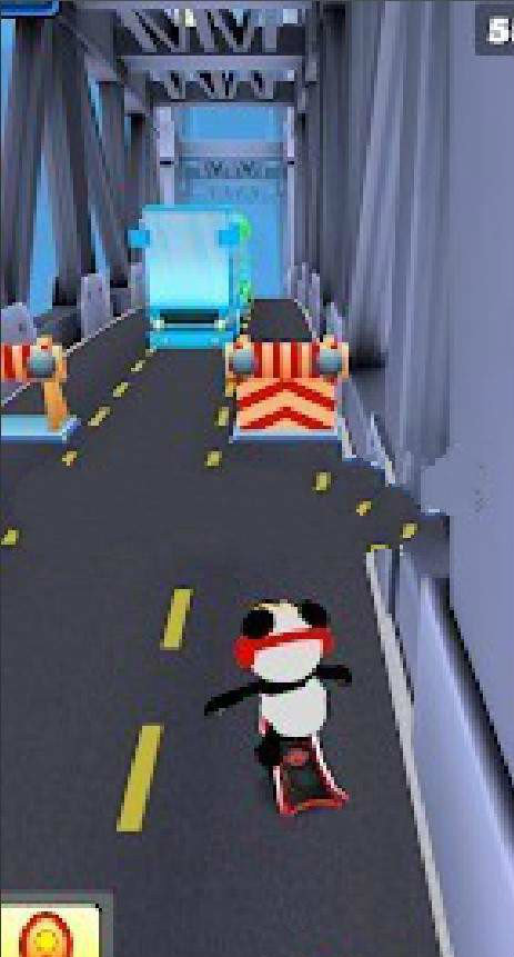 熊貓跑步終結者