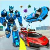 飞机超跑机器人模拟