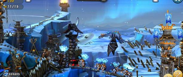 城堡上有一把弓的塔防游戏合集