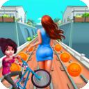 地鐵自行車跑酷