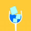 冰塊玻璃杯