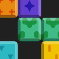 幽灵旋转方块拼图