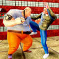 胖子摔跤超�级格斗�