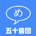 五十音图日语