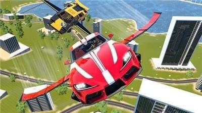现代飞行汽车模拟器3D